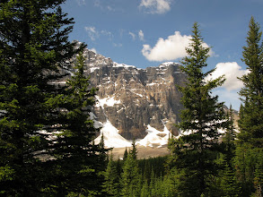 Photo: Wenkchemna Pass, Alberta. 16 juillet 2009 Morraine Lake & Valley of the Ten peaks, Eiffel Lake