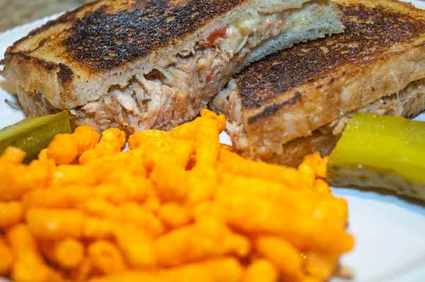 Sandwich Essentials:bbq Pulled Pork Grilled Cheese Recipe