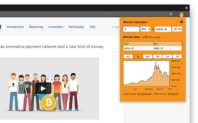 online bitcoin exchange rate