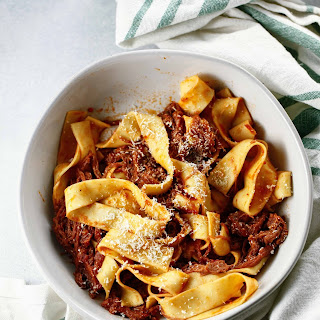 Easy Beef Ragu with Pappardelle.