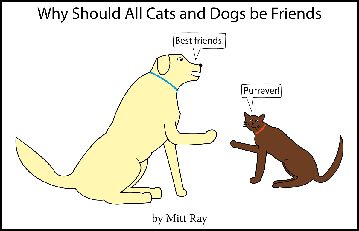 Why Should All Cats and Dogs Be Friends [Free Comic Book]