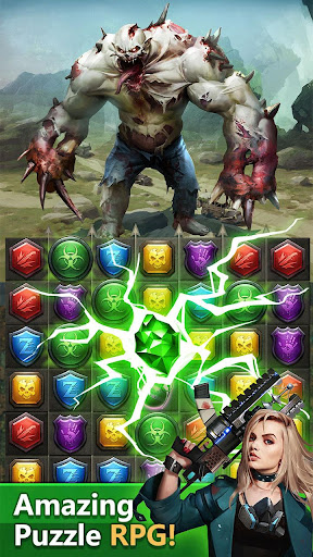 Zombies & Puzzles: RPG Match 3 apkdebit screenshots 6