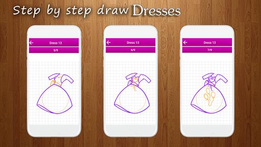 How to Draw Dresses 1.1 screenshots 2