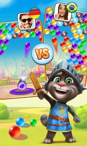 Talking Tom Bubble Shooter screenshot 4
