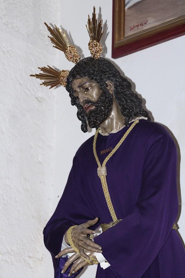 Nuestro Padre Jesús de las Penas en el abandono de sus discípulos.