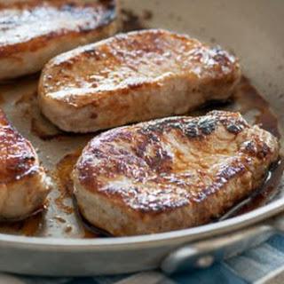 Easy Dry-Brined Pork Loin Chops.