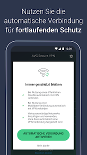AVG Secure VPN – Unbegrenzt Sicherheit & Proxy VPN Screenshot