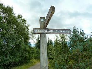 Photo: 10.09.2013 Sur la West Highland Way. Vous conduit en 7 jours de Glasgow à Glen Coe