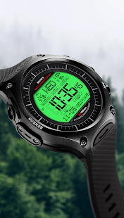 A45 WatchFace for Android Wear- screenshot thumbnail