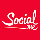 Social Me - Stars, influenceurs et followers app icon