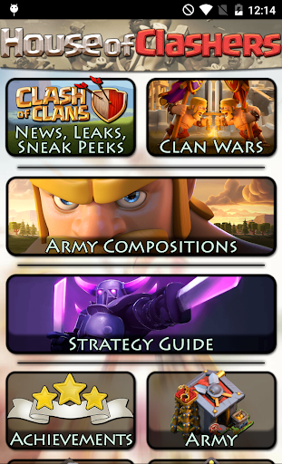 Guide for Clash of Clans CoC 2.0.14 screenshots 1
