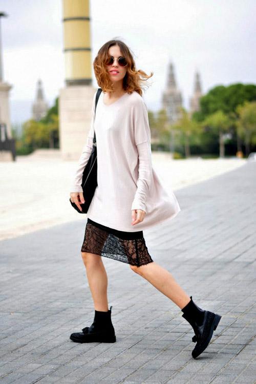 Tuyệt chiêu mặc váy ngủ để hút hồn phái mạnh trong ngày lạnh - 8