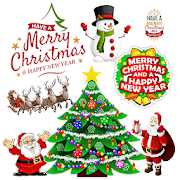 Merry Christmas Stickers For Whatsapp 2019