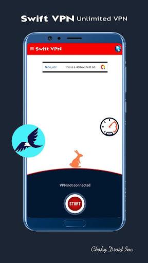 swift vpn - unlimited free & fast security proxy screenshot 2