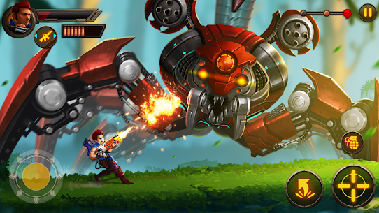 Metal Squad MOD 1.5.4 (Unlimited Coins/Bullets/HP/Bombs/No-Ads) Apk 8