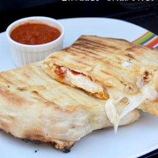 Grilled Calzones.