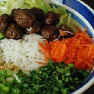 Vietnamese Xiu Mai Bun Recipe