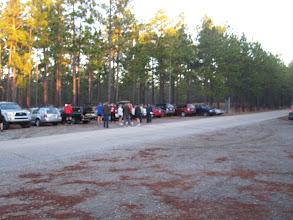Photo: The runner start to gather