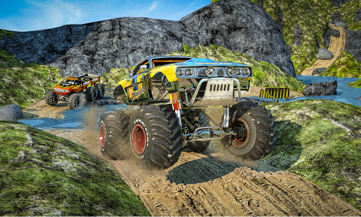 Monster 4x4 Offroad Jeep Stunt Racing 2019 download 2