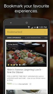 WowTables: Gourmet Restaurants- screenshot thumbnail