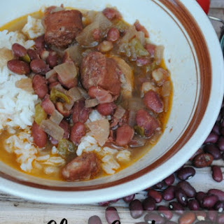 Slow Cooker Cajun Red Beans and Rice