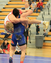 Photo: 160 pounds - 1st: Justin Koethe (Iowa City West) won by decision over Ben Sullivan (Apple Valley) (Dec 10-7)