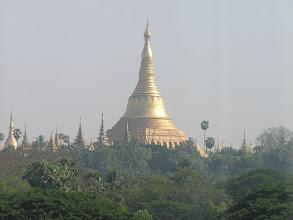 Photo: 4B241570 Birma - Rangun - widok na pagoda zespolu Shwedagon