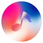 Phone X Music - Red player