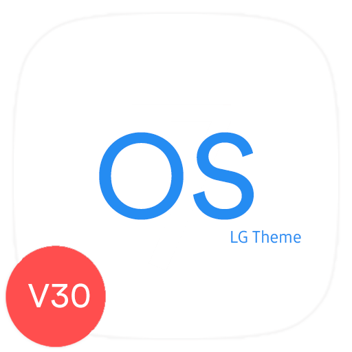 Blue OS Theme LG V30 G6 V20 Oreo