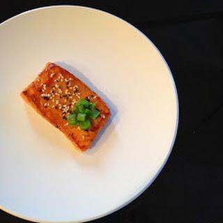 Vegetarian Challenge - Day 1 (Honey Ginger Salmon)