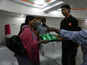Photo: New Year gifts exchanged to our hosts...