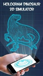 Hologram Dinosaur 3D Simulator Prank - náhled