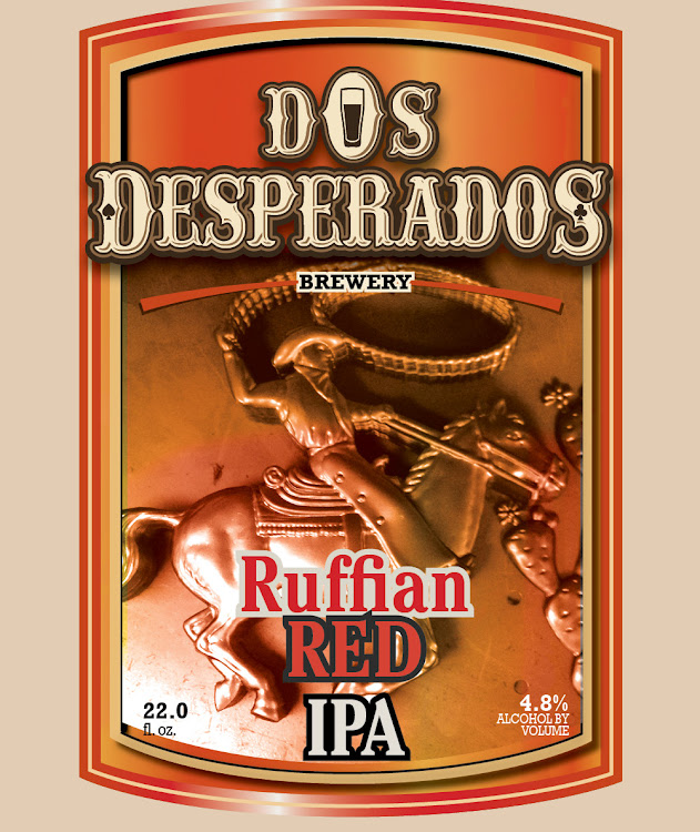 Logo of Dos Desperados Ruffian Red Ale