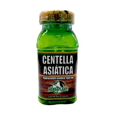 Centella asiática Herbaplant 500 mg X 60 cápsulas
