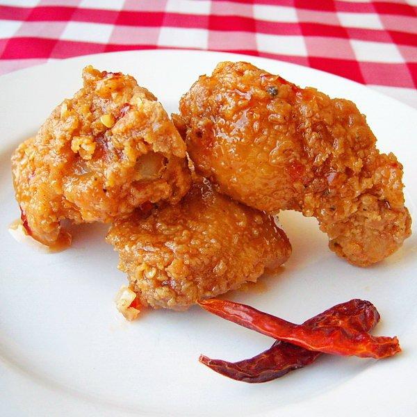 Crispy Sweet Sticky Spicy Wings Recipe