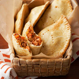 Pork and Sweet Potato Empanadas.