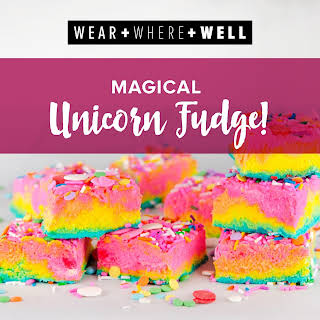 It's Time to Celebrate With This Magical Unicorn Fudge.