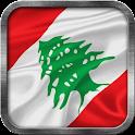 Lebanese Flag Live Wallpaper icon