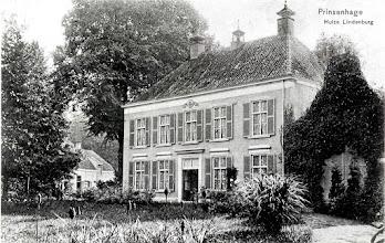 Photo: 1905 Huize Lindenburg aan begin van de Sprundelsebaan
