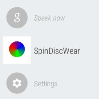 Spin Disc Wear Free Game
