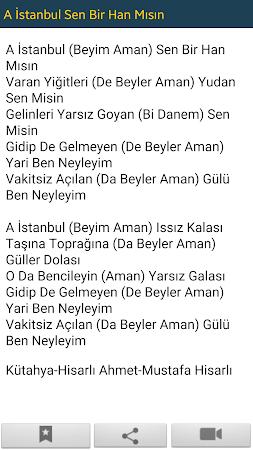 Türkü Sözler ve Notaları 1.30 screenshot 2092188
