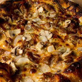 Artisan No-Knead Pizza Crust.