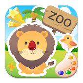 Colors cute zoo animals 4 kids