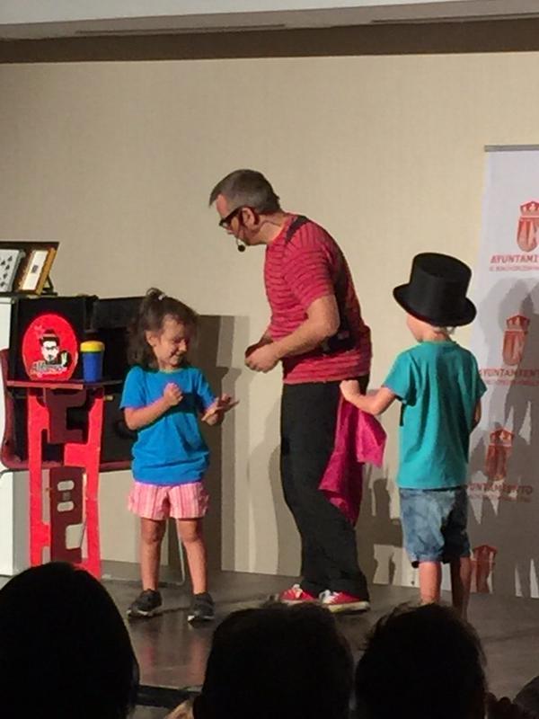 Espectáculo de magia para niños en Madrid 2015