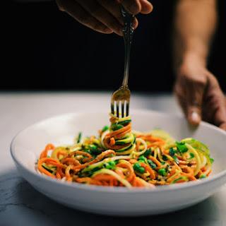 Veggie Noodle Curry Bowl.
