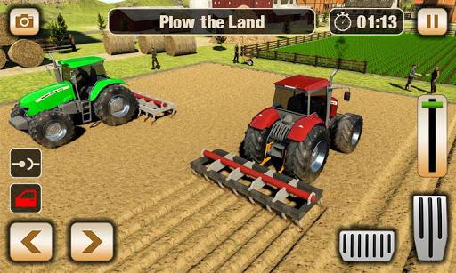 Real Tractor Driver Farm Simulator -Tractor Games 1.0.8 screenshots 11