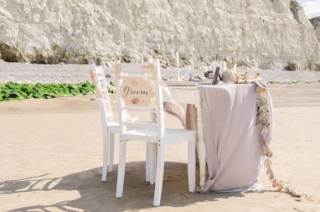 Seaside poetic inspiration bridal shoot  - Côte d'Opale