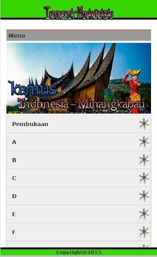 Kamus Indonesia Minangkabau