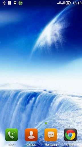 Heavenly waterfall LWP