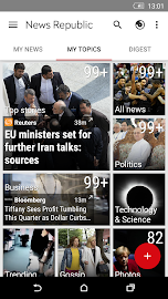 News Republic – Breaking news Screenshot 2